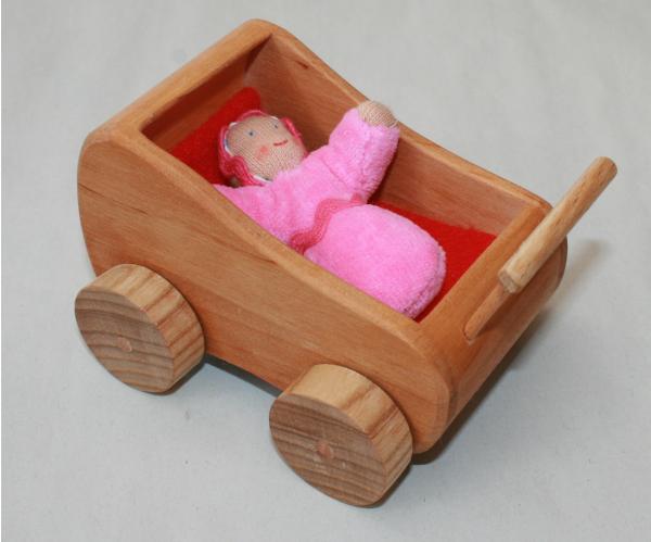 Puppenwagen für Biegepüppchen