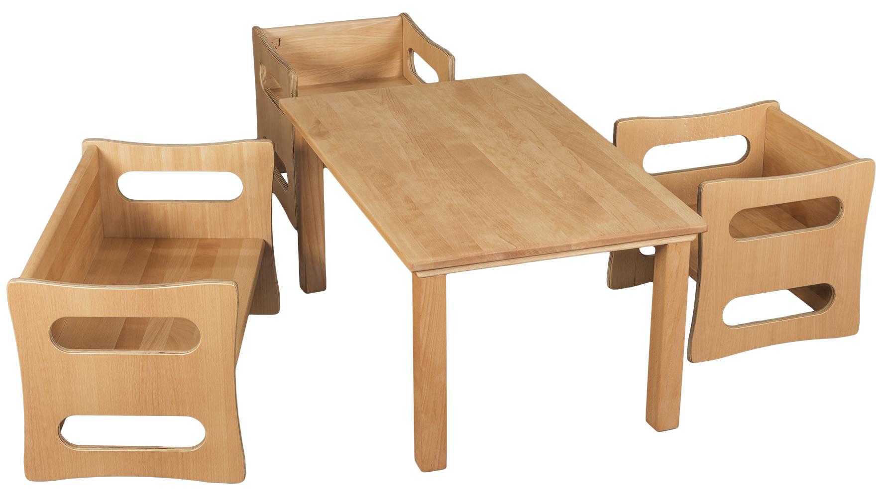 kindertisch set verneuer. Black Bedroom Furniture Sets. Home Design Ideas