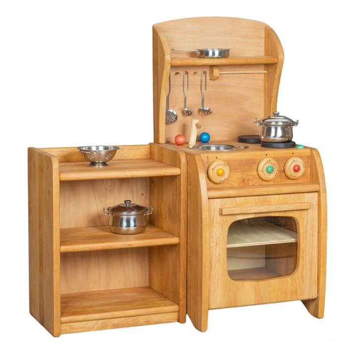 Verneuer beistellschrank naturliches holzspielzeug von for Küchen beistellschrank